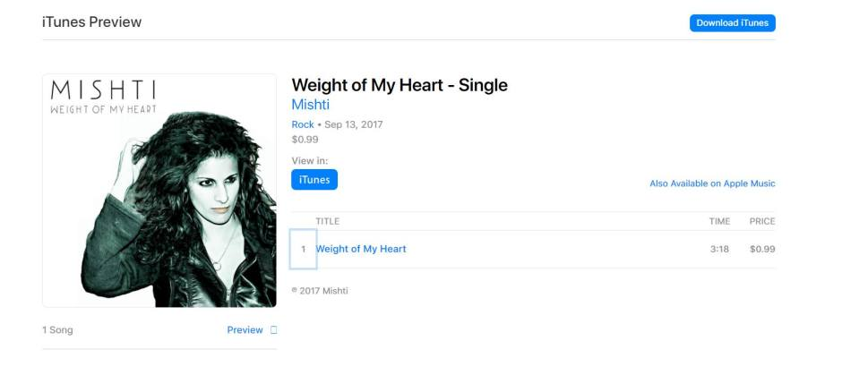 Promo - The weight of my heart